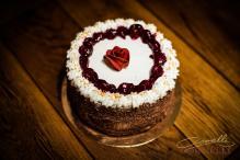 Tort róża